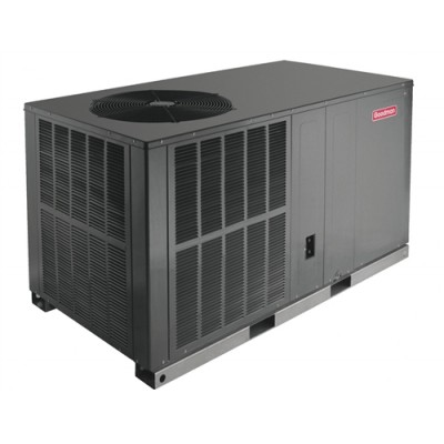 GOODMAN 3.5TON 14SEER PACKAGE UNIT HEAT PUMP HORIZONTAL Mod: GPH1442H41